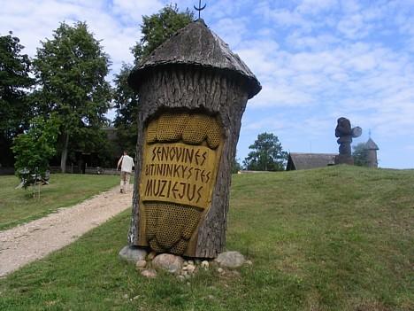 Seno laiku Lietuvas Biškopības muzejs.