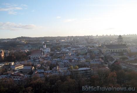 Skats uz Viļņas vecpilsētu