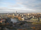 Skats uz Viļņas pilsētu un Neris upi 14