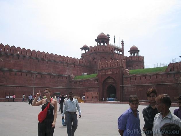 Sarkanais forts jeb imperatora apartamenti. Deli vēsturiski tiek saukta par