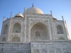 220 km no Deli un nokļūstam Agras pilsētā, kura atrodas viens no 7 Pasaules brīnumiem- Taj Mahal mauzolejs 5