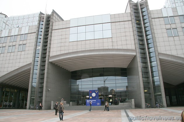 Travelnews.lv sadarbībā ar Eiropas Parlamenta ETP-ED grupu iepazinās ar Eiropas Parlamentu, kas atrodas Briselē