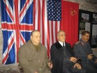 Vēsturiskās Jaltas konferences dalībnieki. Muzejs piedāvā arī iepazīties ar vēsturiskajiem dokumentiem 18