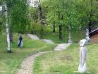 Kopējā parka teritorija aizņem 4 ha 10