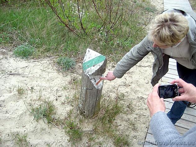 2009. gadā taka tika papildināta ar deviņām informatīvām norādēm, kas palīdzēs vieglāk atrast ceļu virzienā uz Pārnidžu kāpu