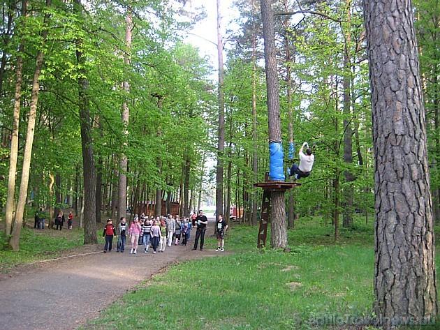 Piedzīvojumu parka teritoriju var kā līdzjutējs apmeklēt ikviens interesents