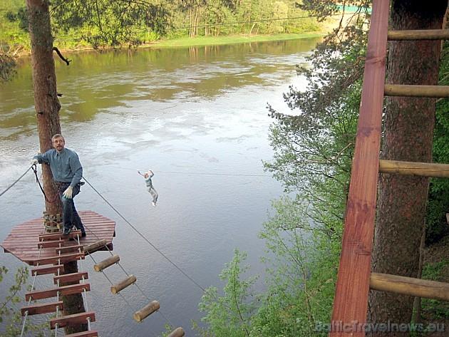 Trase atrodas Nemūnas upes krastā