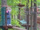 Mazos apmeklētājus parkā vienmēr uzrauga instruktors 9