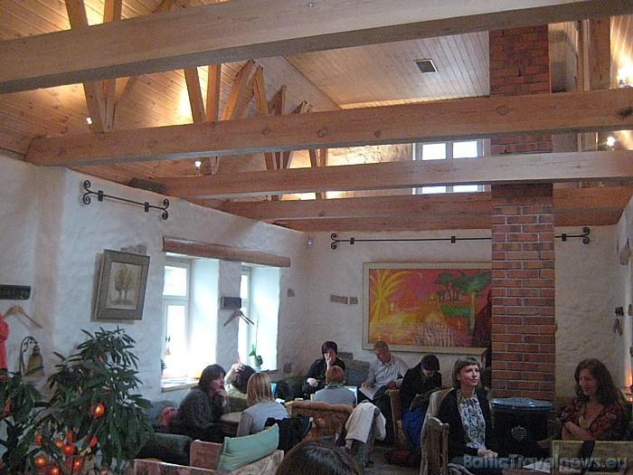 Kafejnīca ir ļoti iecienīta tikšanās vieta Hāpsalu