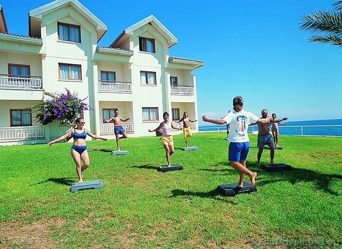 Viesnīcā Salamis Bay Conti pieejamas plašas aktīvās atpūtas iespējas Foto: Salamis Bay Conti Hotel