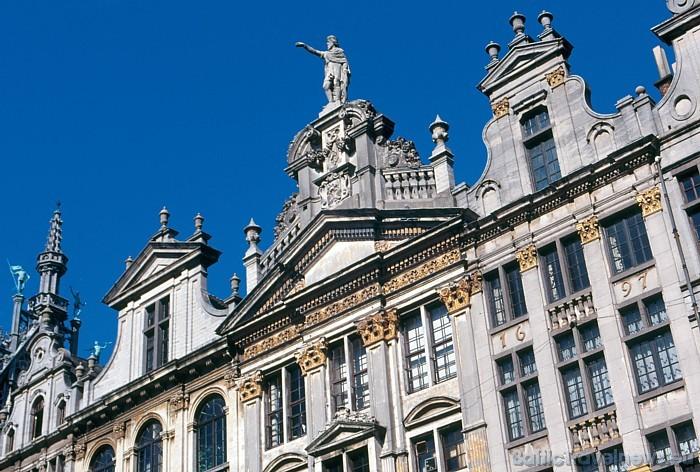 Senā un skaistā Brisele mūsdienās ir vairāku starptautisku organizāciju, tostarp ES un NATO, galvaspilsēta Foto: Copyright of the Belgian Tourist Off
