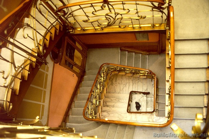 Briselē apskatāmi daudzi interesanti muzeji, piemēram, beļģu arhitekta Hortas māja Foto: Copyright of the Belgian Tourist Office NYC/USA