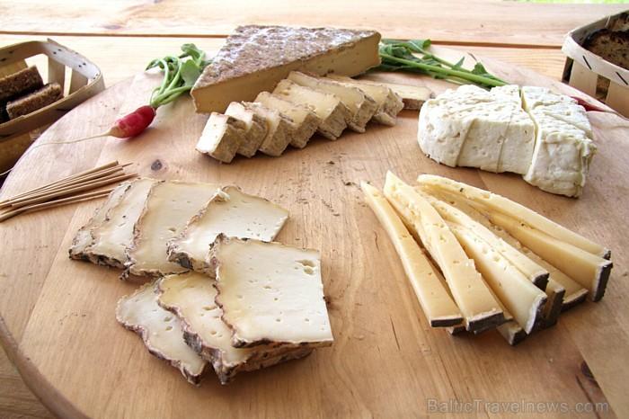 Piedāvāto siera veidu skaits nepārtraukti tiek paplašināts