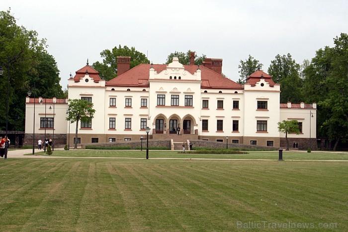 Rokišķu muiža atrodas Lietuvas pilsētā Rokišķi