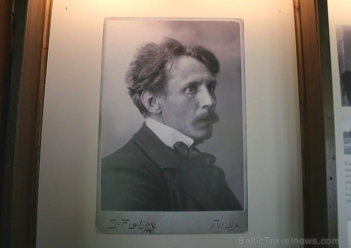 Mikolajus Konstantina Čurļoņis (1875-1911) ir pirmais mūziķis un gleznotājs, kurš apvienoja abus šos dažādos mākslas veidus