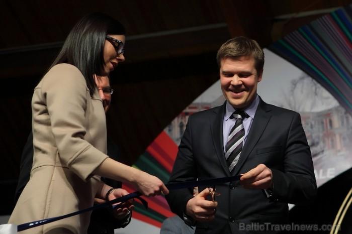 Tūrisma izstādes «Balttour 2012» fotohronika - Atklāšanas ceremonija. Foto: Juris Ķilkuts (www.Fotoatalje.lv)