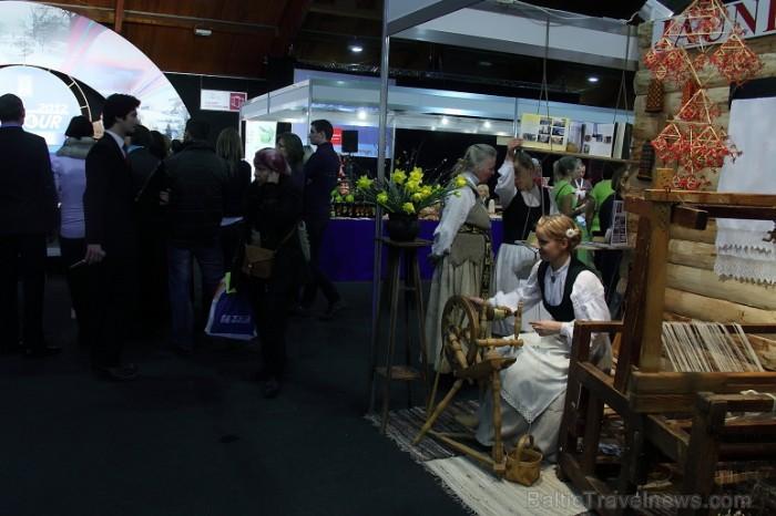 Tūrisma izstādes «Balttour 2012» fotohronika - ceļotāju paradīze un neaizmirsti vinnēt līdz 22.02 īstus 300 eiro savam ceļojumam - www.travelcard.lv.