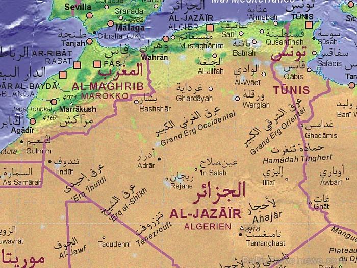 Pilsēta noteikti nav tā īstā vieta, lai tuvāk uzzinātu par alžīriešiem. Dosimies uz Alžīrijas vidieni un rietumiem... ceļojums tikai sākas! 93206