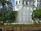 Alžīrijas galvaspilsēta ir Alžīra (El Djazair), kura ar vairāk kā 4 miljoniem iedzīvotāju ir lielākā pilsēta valstī 7