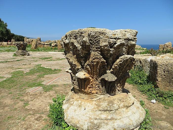 Bazilikas varenās un krāšņās kolonnas