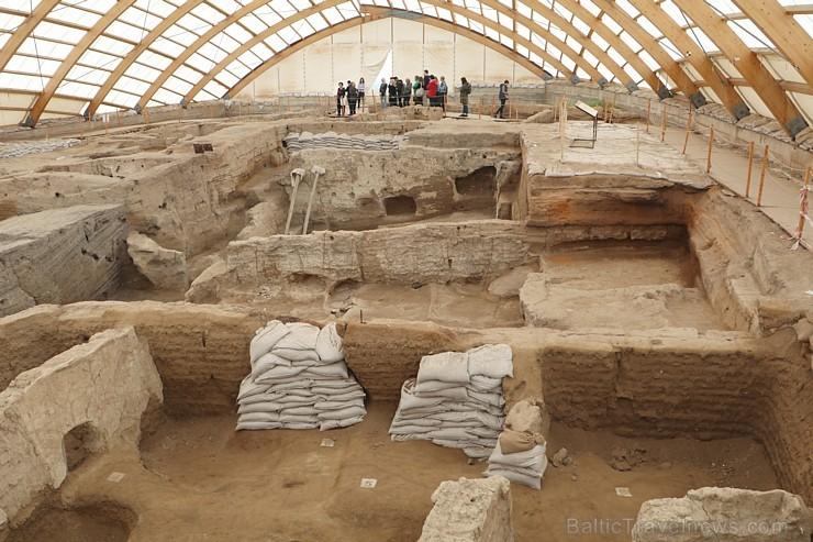 Travelnews.lv apmeklē 9000 gadu vecu cilvēku apmetni Catalhöyük Turcijā. Sadarbībā ar Turkish Airlines