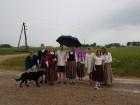 Vasaras saulgriežu laikā patriotiski noskaņoti cilvēki izgaismojuši Latviju, apejot tai apkārt 3