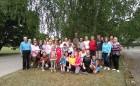 Vasaras saulgriežu laikā patriotiski noskaņoti cilvēki izgaismojuši Latviju, apejot tai apkārt 15