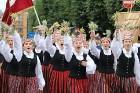 Dziesmu un deju svētku atklāšanas gājiens pulcē Rīgā visus Latvijas novadus (501-600) 1