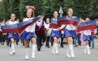 Dziesmu un deju svētku atklāšanas gājiens pulcē Rīgā visus Latvijas novadus (501-600) 2