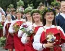 Dziesmu un deju svētku atklāšanas gājiens pulcē Rīgā visus Latvijas novadus (501-600) 12