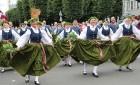 Dziesmu un deju svētku atklāšanas gājiens pulcē Rīgā visus Latvijas novadus (501-600) 19