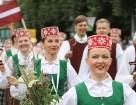 Dziesmu un deju svētku atklāšanas gājiens pulcē Rīgā visus Latvijas novadus (501-600) 25