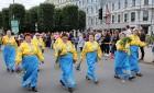 Dziesmu un deju svētku atklāšanas gājiens pulcē Rīgā visus Latvijas novadus (501-600) 26