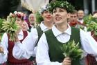 Dziesmu un deju svētku atklāšanas gājiens pulcē Rīgā visus Latvijas novadus (501-600) 35