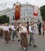 Dziesmu un deju svētku atklāšanas gājiens pulcē Rīgā visus Latvijas novadus (501-600) 65