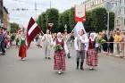 Dziesmu un deju svētku atklāšanas gājiens pulcē Rīgā visus Latvijas novadus (501-600) 73