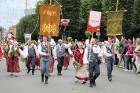 Dziesmu un deju svētku atklāšanas gājiens pulcē Rīgā visus Latvijas novadus (501-600) 78