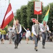 Dziesmu un deju svētku atklāšanas gājiens pulcē Rīgā visus Latvijas novadus (501-600) 84
