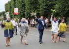 Dziesmu un deju svētku atklāšanas gājiens pulcē Rīgā visus Latvijas novadus (501-600) 85