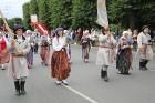 Dziesmu un deju svētku atklāšanas gājiens pulcē Rīgā visus Latvijas novadus (501-600) 88
