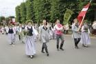 Dziesmu un deju svētku atklāšanas gājiens pulcē Rīgā visus Latvijas novadus (501-600) 89