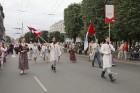 Dziesmu un deju svētku atklāšanas gājiens pulcē Rīgā visus Latvijas novadus (501-600) 93