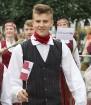 Dziesmu un deju svētku atklāšanas gājiens pulcē Rīgā visus Latvijas novadus (501-600) 99