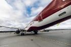 Latvijas nacionālā lidsabiedrība «airBaltic» 18. novembrī pirmo reizi piedalījās svinīgajā parādē ar «Airbus A220-300» lidmašīnu, kuru rotā sarkanbalt 7