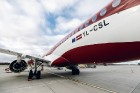 Latvijas nacionālā lidsabiedrība «airBaltic» 18. novembrī pirmo reizi piedalījās svinīgajā parādē ar «Airbus A220-300» lidmašīnu, kuru rotā sarkanbalt 8