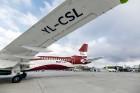 Latvijas nacionālā lidsabiedrība «airBaltic» 18. novembrī pirmo reizi piedalījās svinīgajā parādē ar «Airbus A220-300» lidmašīnu, kuru rotā sarkanbalt 10