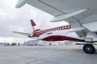 Latvijas nacionālā lidsabiedrība «airBaltic» 18. novembrī pirmo reizi piedalījās svinīgajā parādē ar «Airbus A220-300» lidmašīnu, kuru rotā sarkanbalt 12