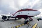 Latvijas nacionālā lidsabiedrība «airBaltic» 18. novembrī pirmo reizi piedalījās svinīgajā parādē ar «Airbus A220-300» lidmašīnu, kuru rotā sarkanbalt 13