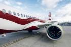Latvijas nacionālā lidsabiedrība «airBaltic» 18. novembrī pirmo reizi piedalījās svinīgajā parādē ar «Airbus A220-300» lidmašīnu, kuru rotā sarkanbalt 16