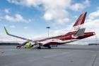 Latvijas nacionālā lidsabiedrība «airBaltic» 18. novembrī pirmo reizi piedalījās svinīgajā parādē ar «Airbus A220-300» lidmašīnu, kuru rotā sarkanbalt 19